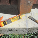 How To Repair A Cracked Concrete Patio U2013 Part 2